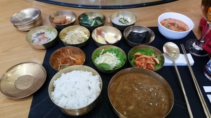 Traditional North Korean food